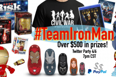 Captain America: Civil War Twitter Party and Giveaway #TeamIronMan #CaptainAmericaEvent