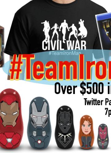 Captain America: Civil War Twitter Party