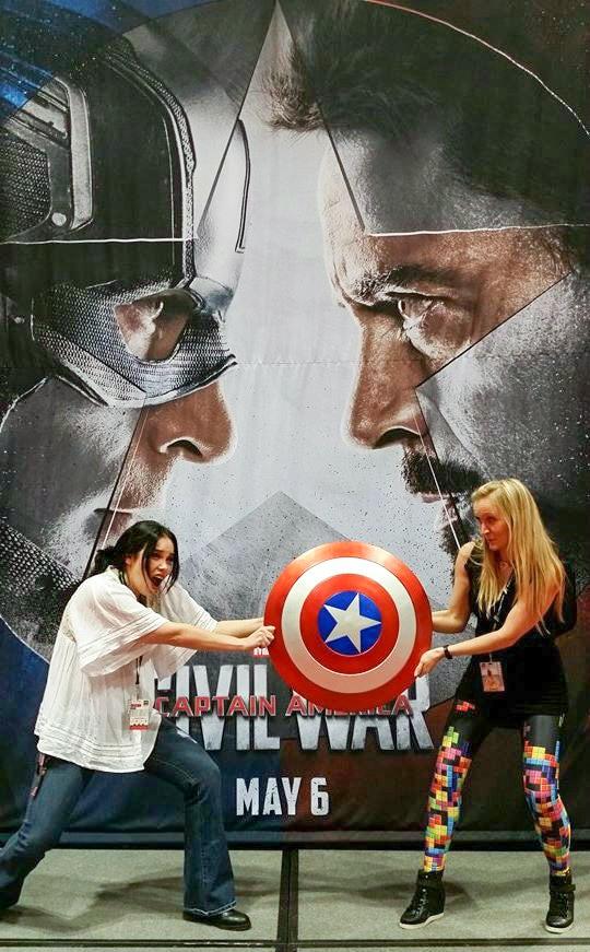 Chicago Comic Entertainment Expo C2E2 Captain America Civil War