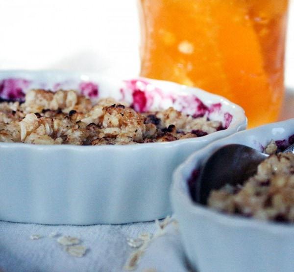 Easy Blueberry Crumble Recipe