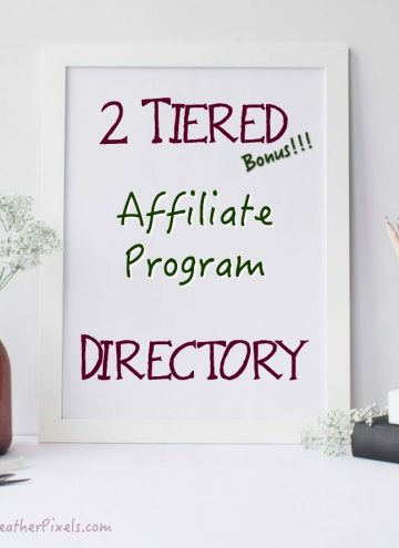 Shareasale Bonus 2 Tier Affiliate Program Directory