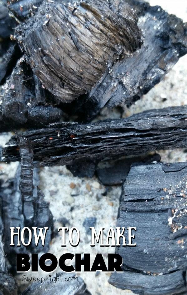 How to make Biochar for your garden soil
