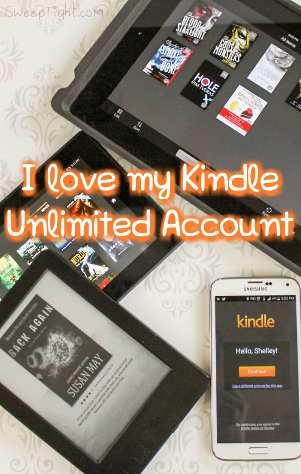 Thanks to my Kindle Unlimited account I've bypassed my reading goals already!