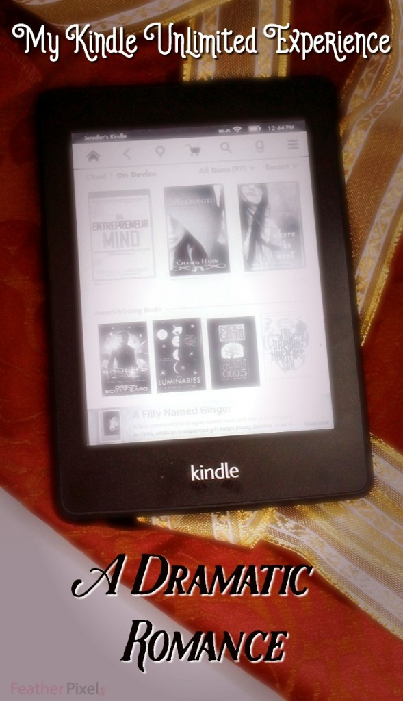 My Kindle Unlimited Account - A Love Story