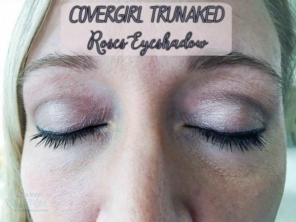 CoverGirl Trunaked Roses Eyeshadow Palatte
