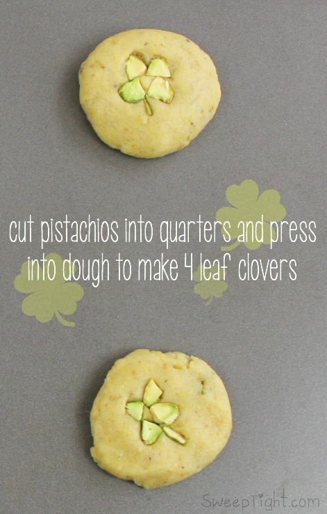 super easy leaf cookies easy four leaf clover cookies a magical mess 5526