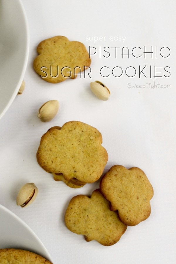 Easy St. Patrick's Day Cookie Recipe with Pistachios
