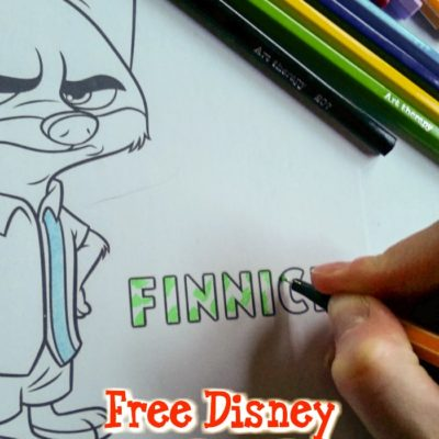 2016 Free Disney Coloring Pages Round Up