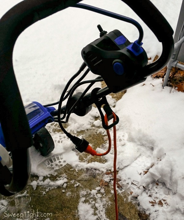 Winter in Chicago with an Electric Snow Blower from Snow Joe