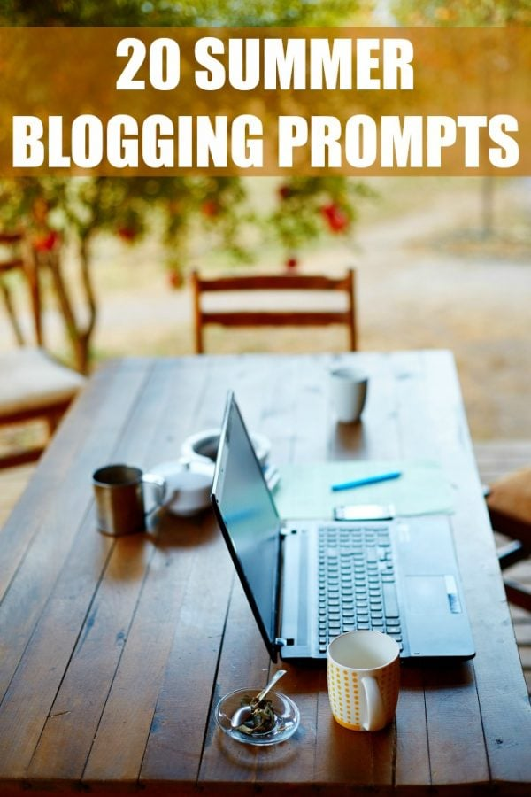 20 Summer Writing Prompts for Bloggers