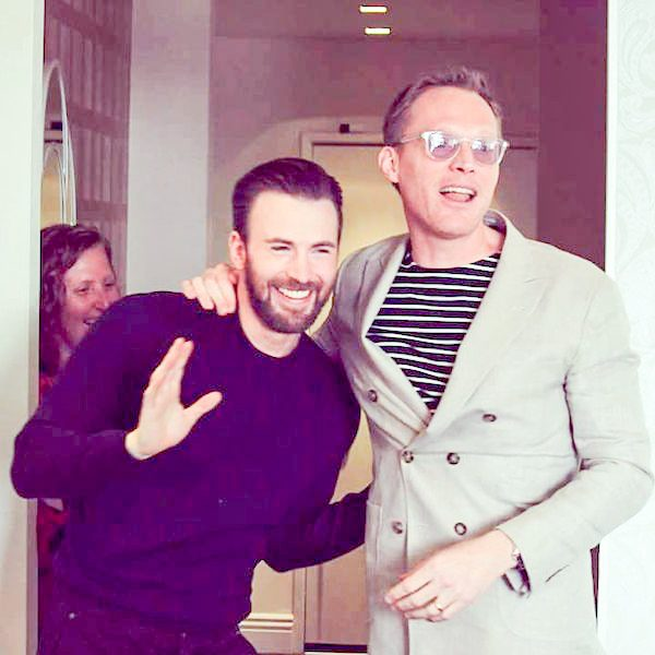 Chris Evans and Paul Bettany in an Interview for Captain America: Civil War