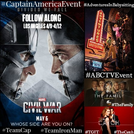Team Iron Man all the way here! #CaptainAmericaEvent #TeamIronMan #ABCTVEvent #TheFamily #TheCatch #AdventuresInBabysitting #TheRealONeals #TGIT