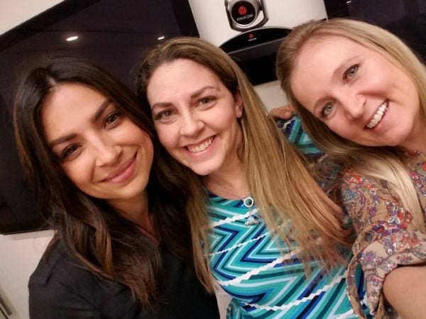 Floriana Lima - ABC The Family Review and Cast Interviews #ABCTVEvent #TheFamily