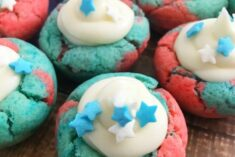 Firecracker Bites - 4th of July Cookies Recipe