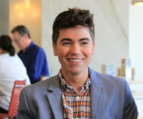 Noah Galvin - The Real O'Neals is seriously the best tv comedy series! #TheRealONeals #CaptainAmericaEvent