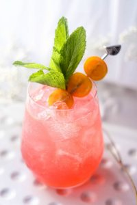 Raspberry and Orange Screwdriver Drink Recipe