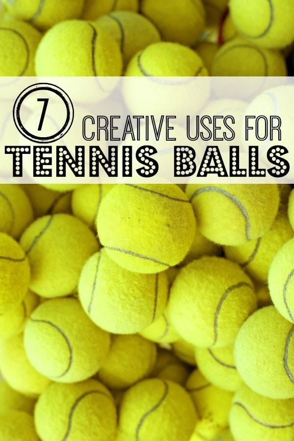 7 Creative Uses for Tennis Balls