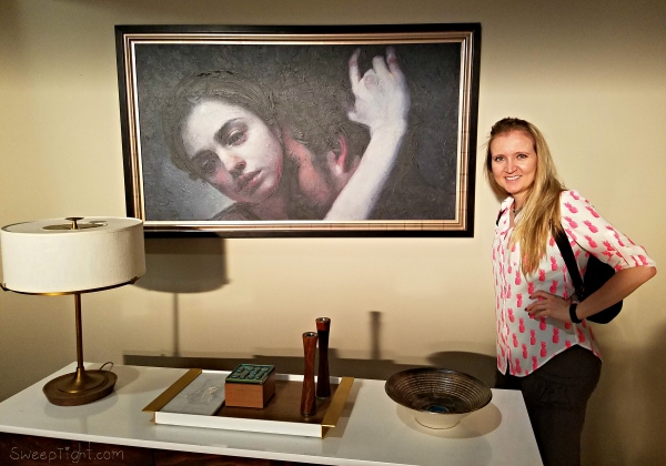 Original Maria Kreyn Painting from The Catch on ABC - #TheCatch #ABCTVEvent