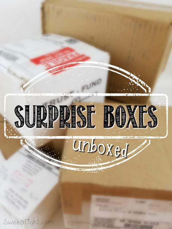Surprise Unboxings