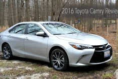 2016 Toyota Camry Review – A Time Tested Classic
