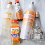 Orange Cream Pop Cocktail and Tangerine Popsicle
