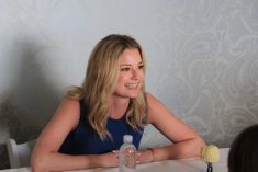 Interview with Emily VanCamp as Agent 13 #CaptainAmericaEvent