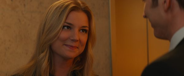 Emily VanCamp as Agent 13 Sharon Carter - Exclusive blogger interview #CaptainAmericaEvent