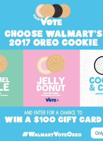 2017 OREO Cookie Flavors – Vote for a Chance to Win