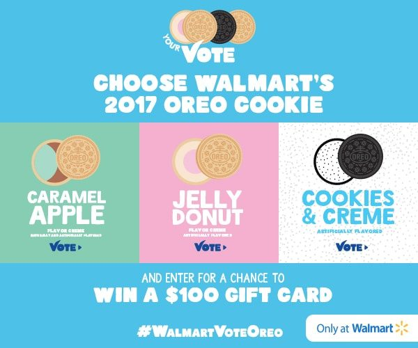2017 OREO Cookie Flavors - Vote for Your Favorite for a Chance to Win
