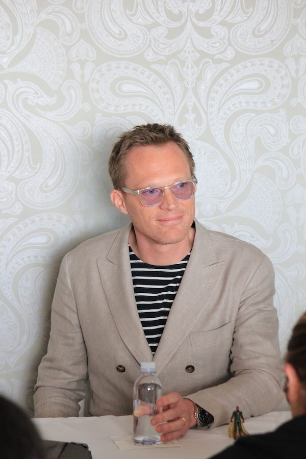Paul Bettany as Vision - blogger interview #CaptainAmericaCivilWar #CaptainAmericaEvent #TeamIronMan #Vision