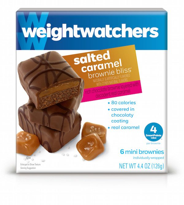 Salted Caramel Brownie Bites from Weight Watchers make the best quick party snacks #TasteAndBelieve #IC #ad