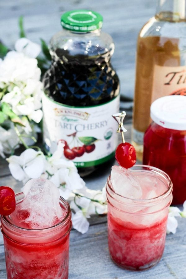 Lemonade Tart Cherry Juice Cocktail Recipe