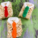 Tie Rice Krispies Treats Recipe for Father's Day