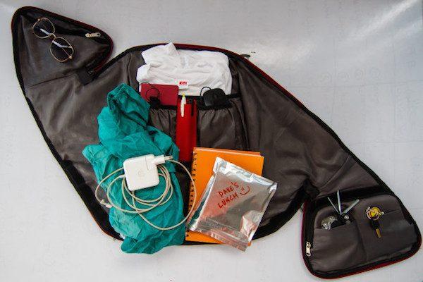 Aster - safest backpack for biking EVER