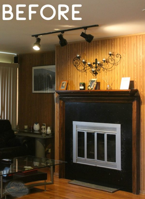 Easy Makeover with New Living Room Lights
