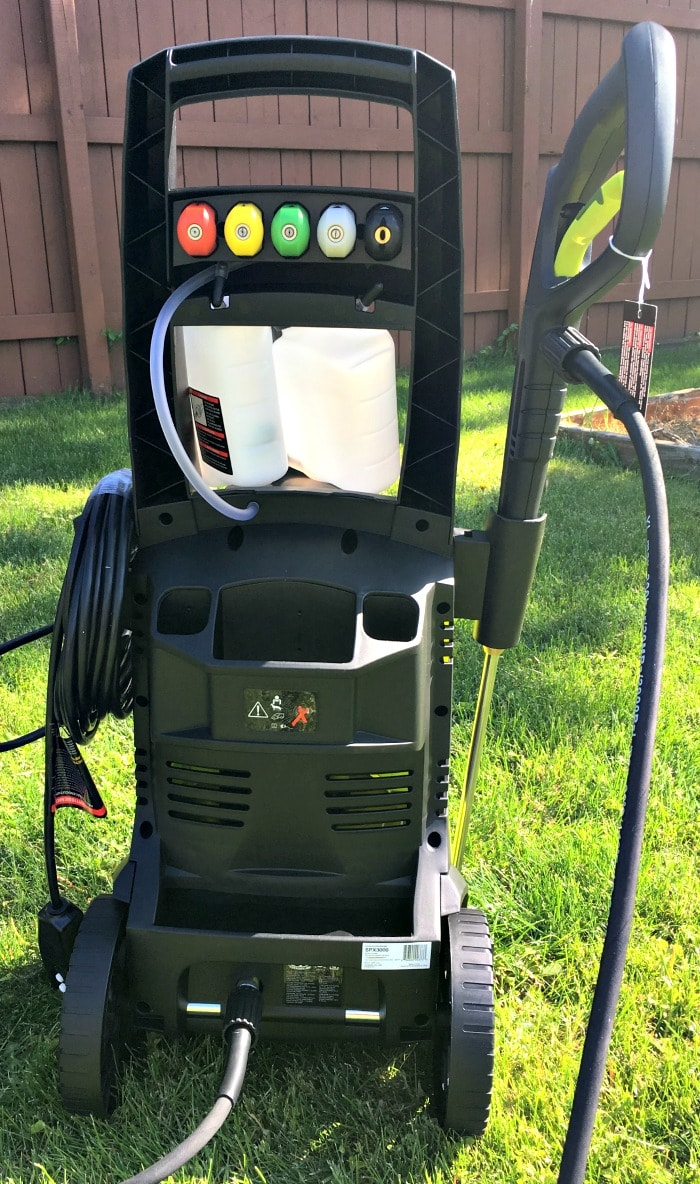 Sun Joe Pressure Joe 2030 PSI 1.76 GPM 14.5-Amp Electric Pressure Washer SPX3000