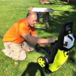 Our Electric Pressure Washer is Making it Fun to Clean