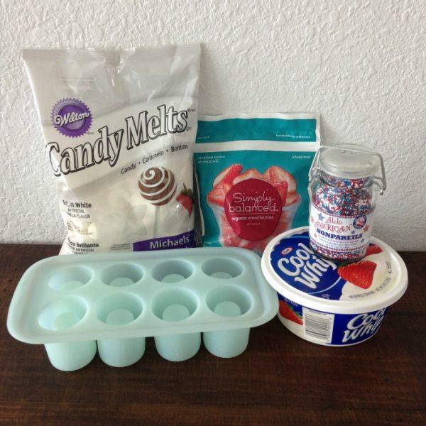 White Chocolate Shot Glass Molds Recipe