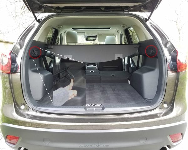 Cargo space - 2016 Mazda CX-5