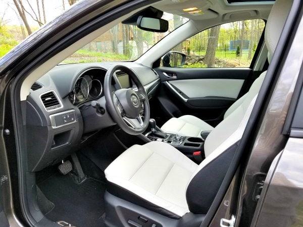 Driver's Seat - 2016 Mazda CX-5