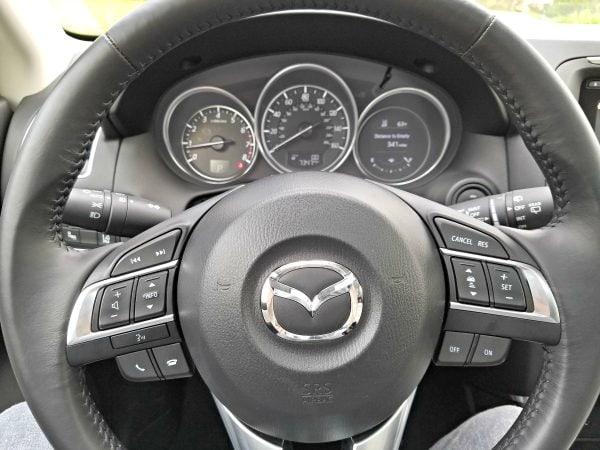 Steering wheel - 2016 Mazda CX-5 Review #DriveMazda ad