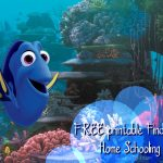 Finding Dory Home Schooling Supplies