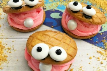 DIY Clam Cookies for Under the Sea Theme Party