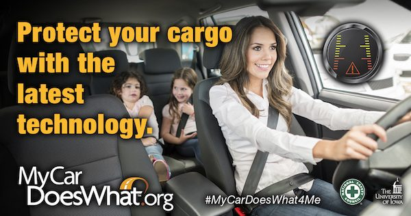 Car Safety Features are amazing these days! #MyCarDoesWhat4Me ad