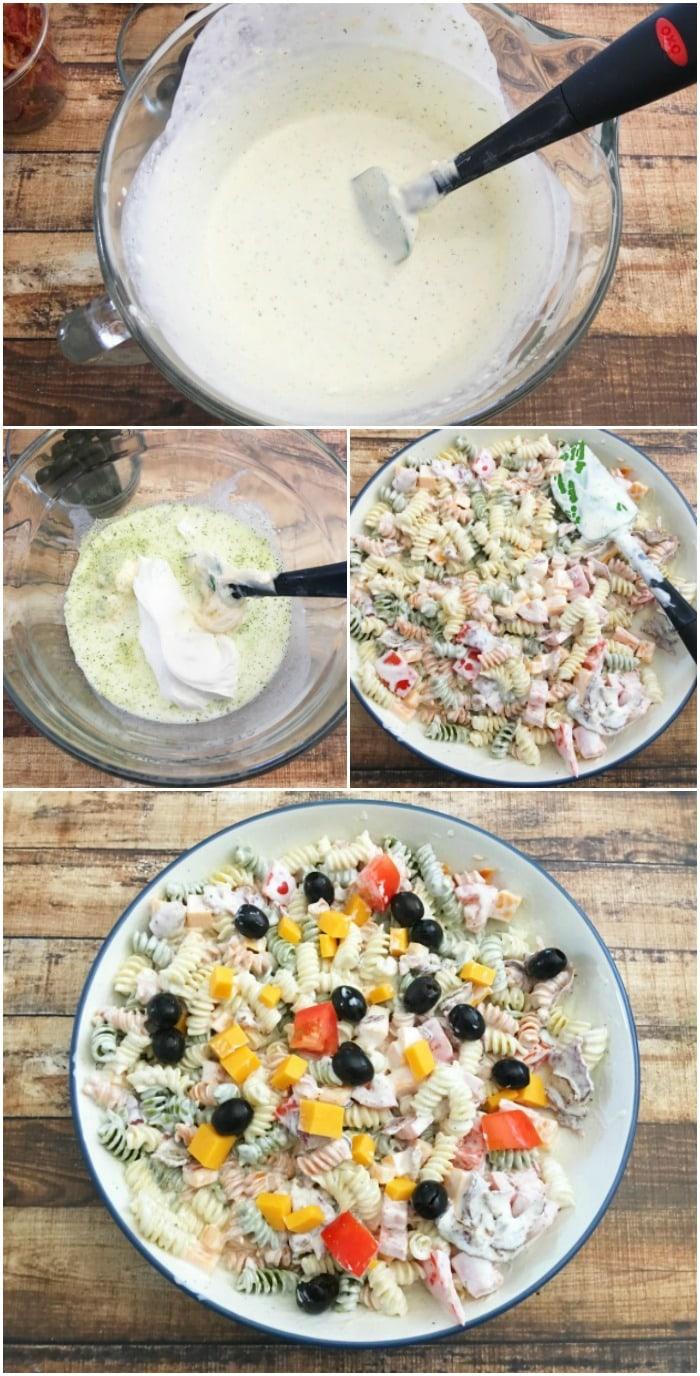 Bacon Ranch Pasta Salad Recipe