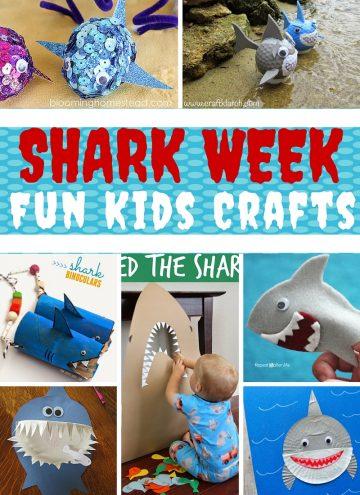 15 Shark Week Crafts for Kids