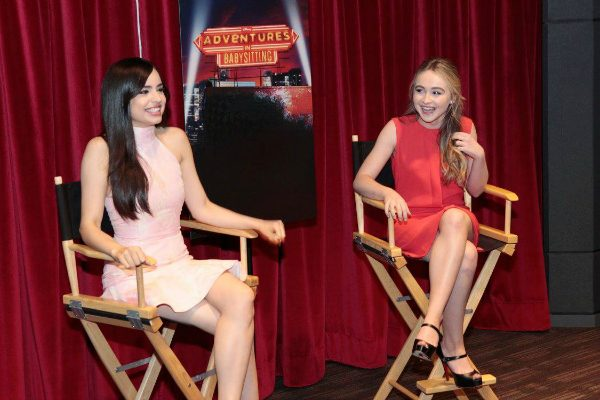 Sofia Carson and Sabrina Carpenter - Adventures In Babysitting 2016 #AdventuresInBabysitting