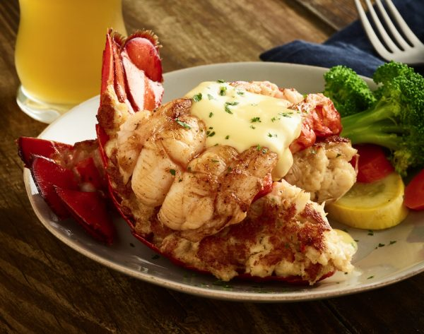 Giant Crab Stuffed Lobster Tail