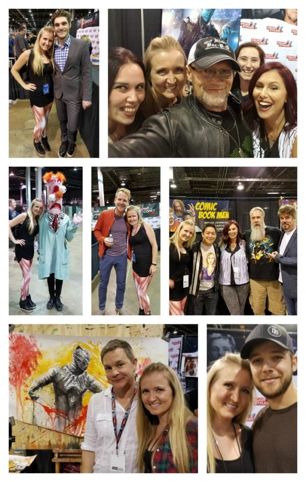 Celebrity photos Walker Stalker Con Chicago 2016
