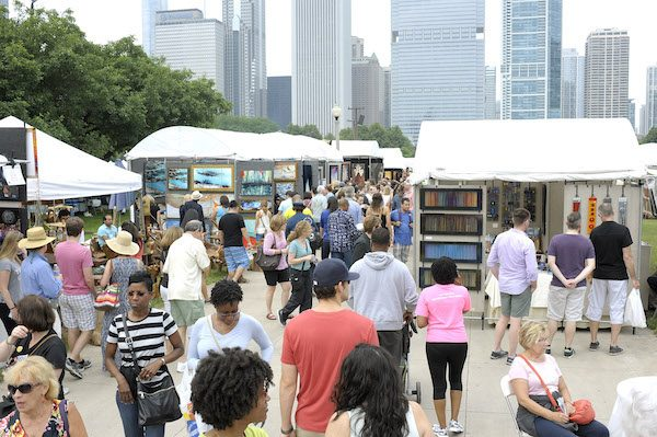 Art Festival Chicago - Gold Coast Art Fair